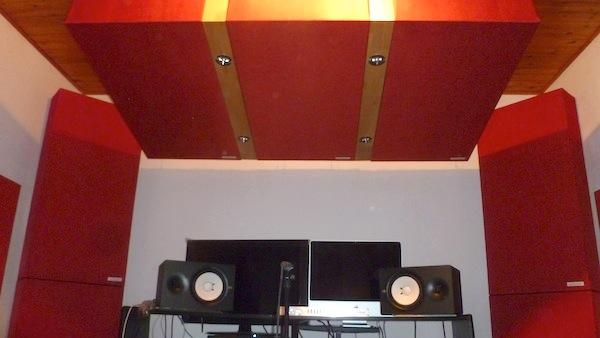 bass trap a soffitto