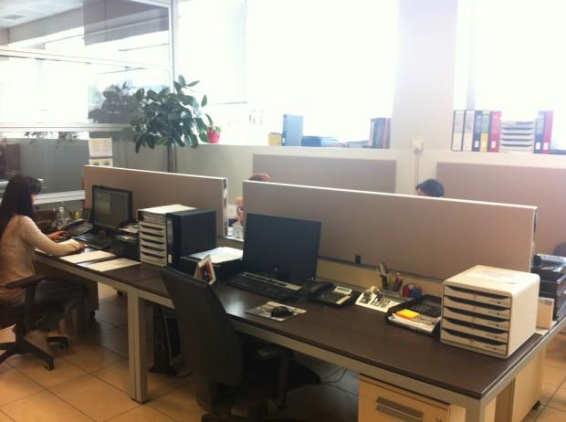Divisori Ufficio con inserti Inox
