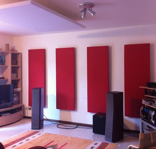Akupan pannelli acustici fonoassorbenti oudimmo for Pannelli da parete