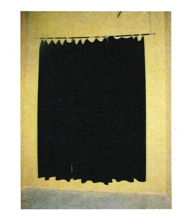 test laboratorio stoffa sipario da teatro Vellacoustic