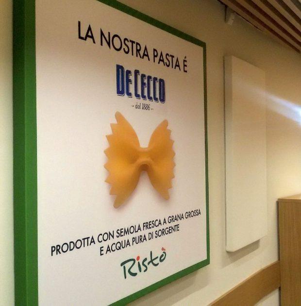 Quadri fonoassorbenti per Ristò Portello, Milano