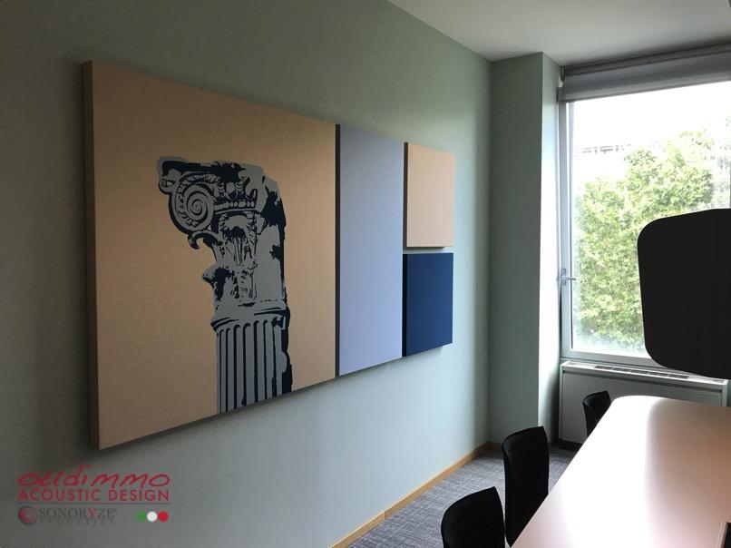 pannelli fonoassorbenti per ufficio oudimmo acoustic design