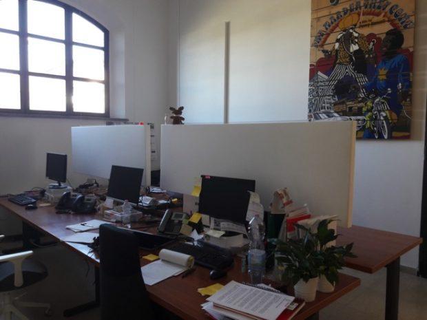 Divisori da scrivania per ufficio AkuPan DESK