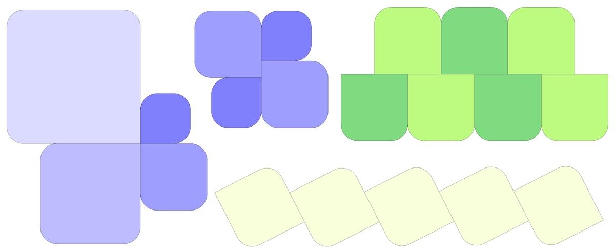 Icon - esempi composizioni