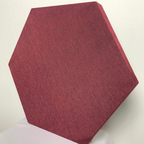 pannelli fonoassorbenti esagonali