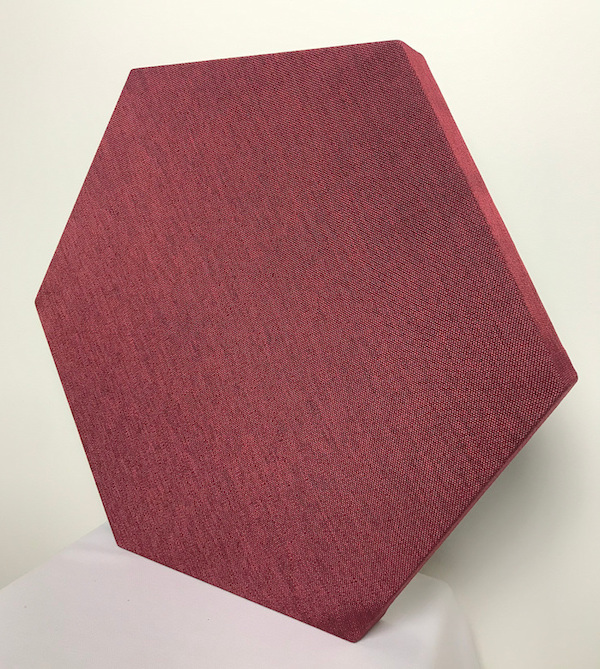 pannelli fonoassorbenti esagonali EXIST