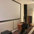 Correzione acustica home theatre