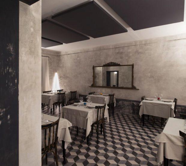 Pannelli fonoassorbenti ristorante a Crema
