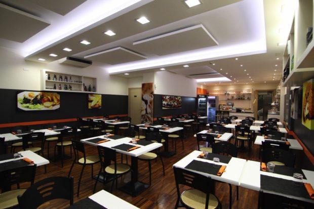 trattamento acustico ristorante