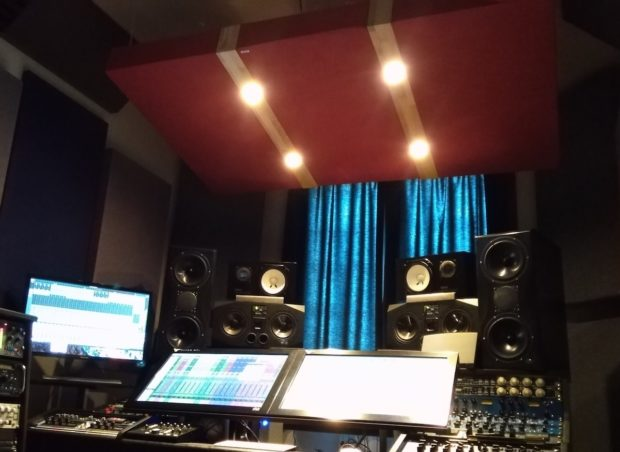 Ceiling Cloud Recording Studio