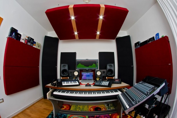 Studio di produzione musicale