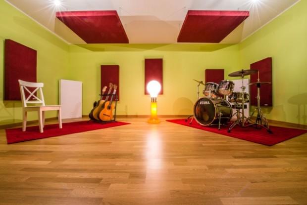 Trattamento acustico per home studio e studio di registrazione